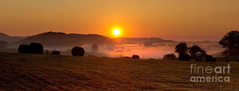 Misty Ridge by Everett Houser