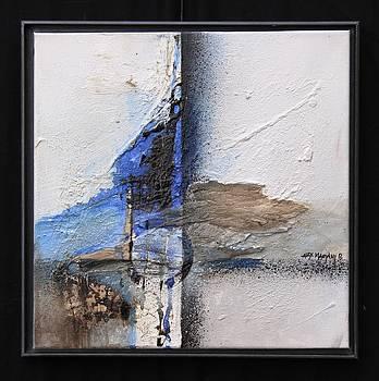 mixture in wood II by Alexandra Mariani