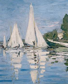 Monet, Claude 1840-1926. Regatta by Everett