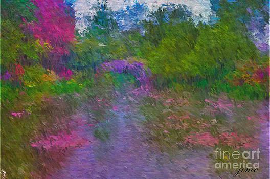 Monet's Lily Pond by Jim Hatch