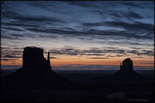 Erika Fawcett - Monument Valley Sunrise