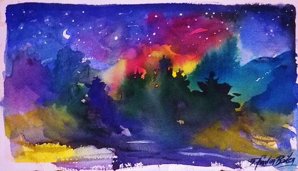 Moon  Starshine and Pines by Therese Fowler-Bailey