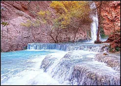 Mooney Falls by Stellina Giannitsi
