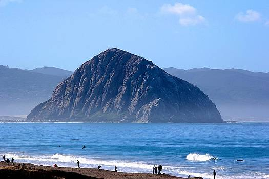 Morro Rock by Liz Vernand