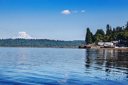 Jo Ann Snover - Mount Rainier and Puget Sount