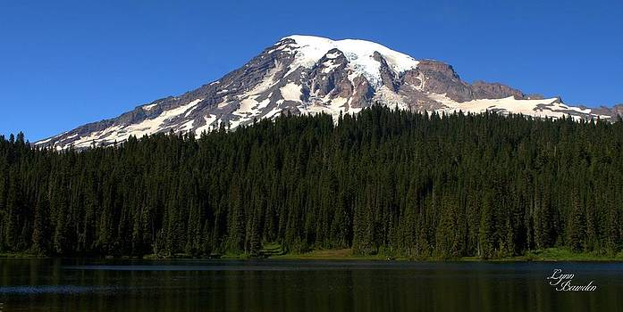 Lynn Bawden - Mount Rainier and Reflection Lake