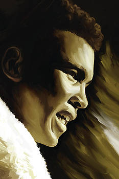 Muhammad Ali Boxing Artwork by Sheraz A
