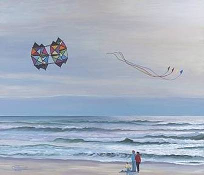 Multi-Winged Box Kite by Carol Thompson