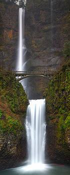 Multnomah Falls by Anthony J Wright