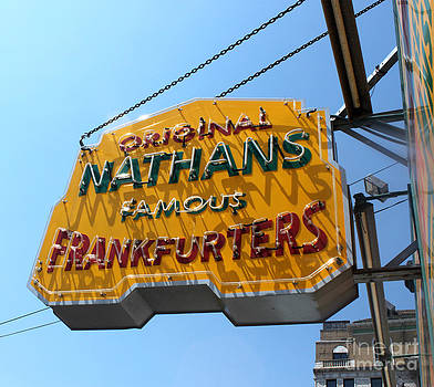 Gregory Dyer - Nathans Hot Dogs - Coney Island