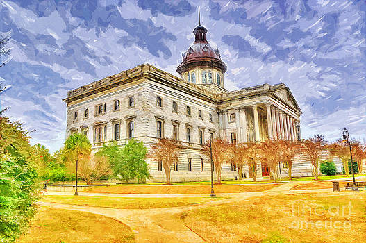 NE Columbia SC capitol HDR by Ules Barnwell