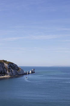 Needle's Isle of wight by Gillian Dernie
