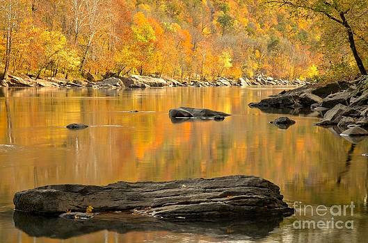 Adam Jewell - New River Fall Reflections