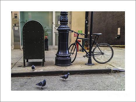 New York Scene by Iris Posner