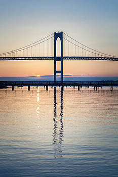 Joshua McDonough - Newport Bridge Sunrise