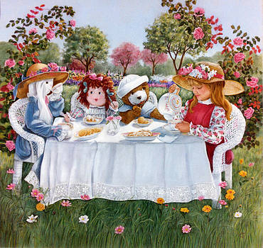 Nicole's Magic Tea Party by Ann Peck