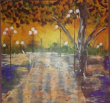 Night Reflections by Judi Goodwin