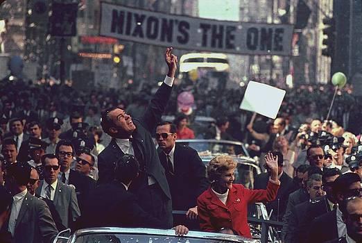 Nixon 1968 Presidential Campaign by Everett