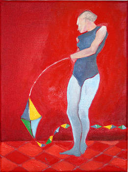 Victoria Sheridan - Noel with kite