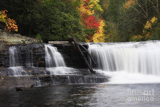 Jill Lang - North Carolina Waterfall