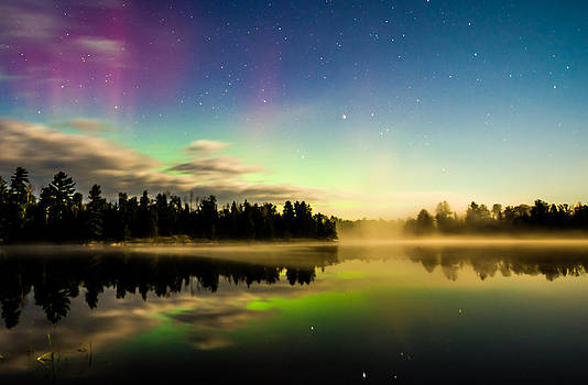 Northern Lights in the BWCA by Christopher Broste