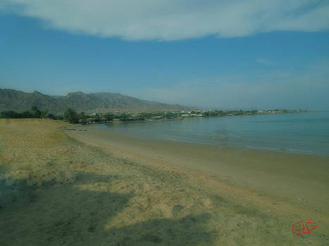 Colette V Hera  Guggenheim  - Nuweiba beach Sinai Egypt