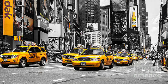 Hannes Cmarits - NYC Yellow Cabs - ck
