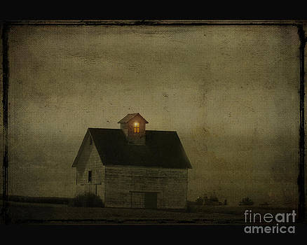 Old barn by Jim Wright