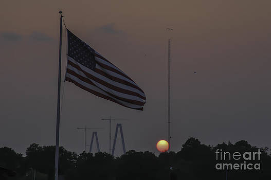 Dale Powell - Old Glory Sunset