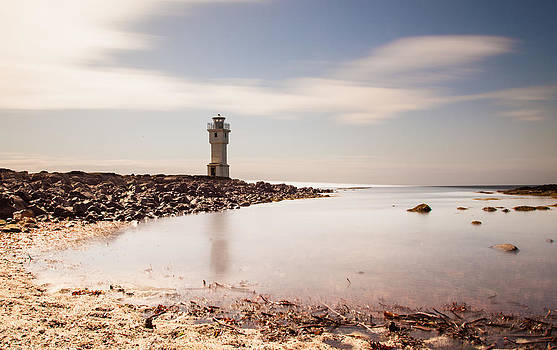 Old lighthouse by Thorir Bjorgvinsson