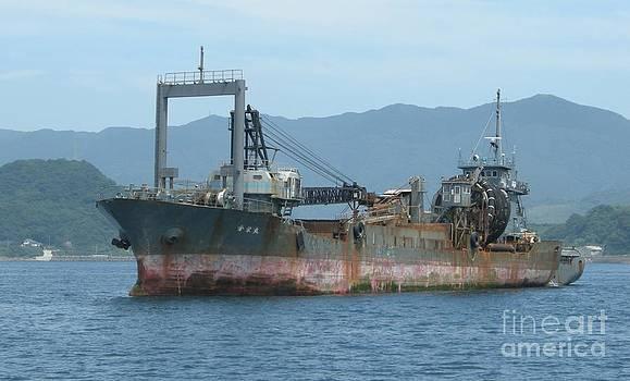 Old ship by Evgeny Pisarev