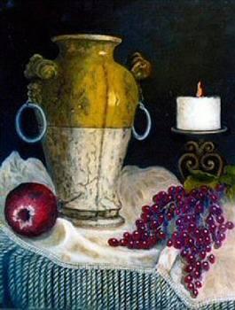 Old World Vase by Jeanene Stein