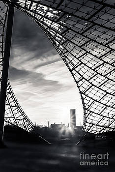 Olympiastadium - The Roof  by Hannes Cmarits