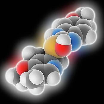 Omeprazole Drug Molecule by Laguna Design