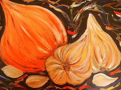 Onion and Garlic by Suzanne Buckland
