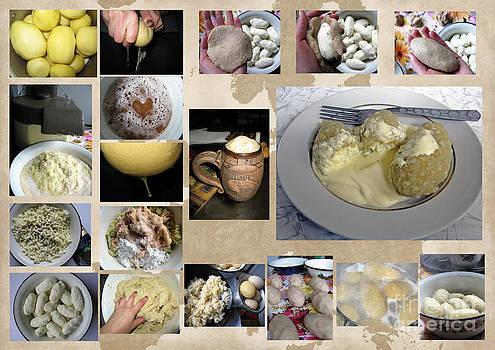 Only in Lithuania... Cepelinai. Potato Dumplings by Ausra Huntington nee Paulauskaite