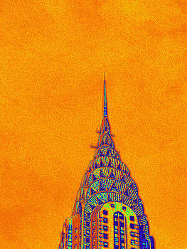 Orange Chrysler by Keith McGill