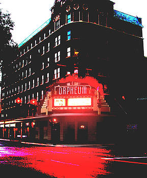 Orpheum Theater  by Dana Patterson