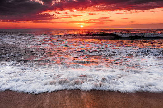 Outer Banks Sunrise by Dustin Ahrens