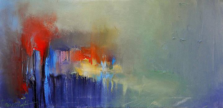 Over the lake by David Figielek