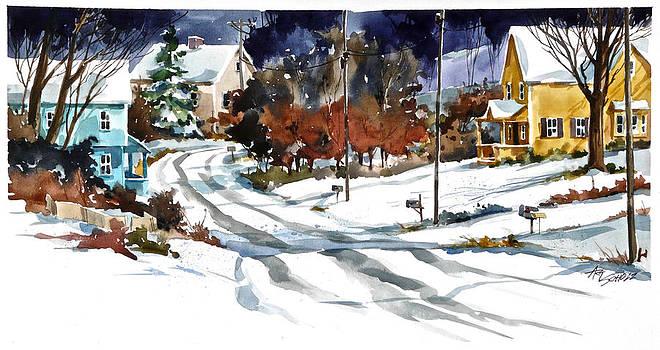 Overnight Snow by Art Scholz
