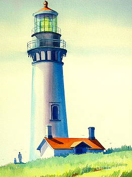 Pacific Lighthouse by Virginia White