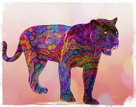 Painted Panther by Michael Pittas