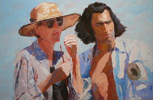 Painter and Actor by Irena  Jablonski