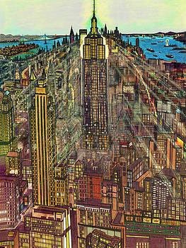 Art America Gallery Peter Potter - New York Mid Manhattan 1971