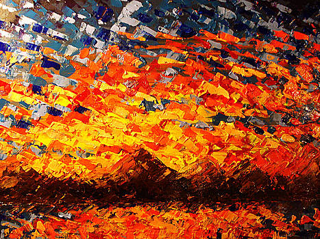 Palette Knife 2 by Paula Shaughnessy