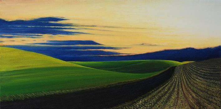 Palouse Drive by Leonard Heid