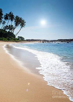Paradise beach  by Christina Rahm