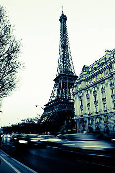 Paris Eiffel Night Movements by Calvin Hanson
