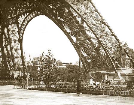 California Views Archives Mr Pat Hathaway Archives - Paris Exposition Eiffel Tower Paris France 1900  historical photos